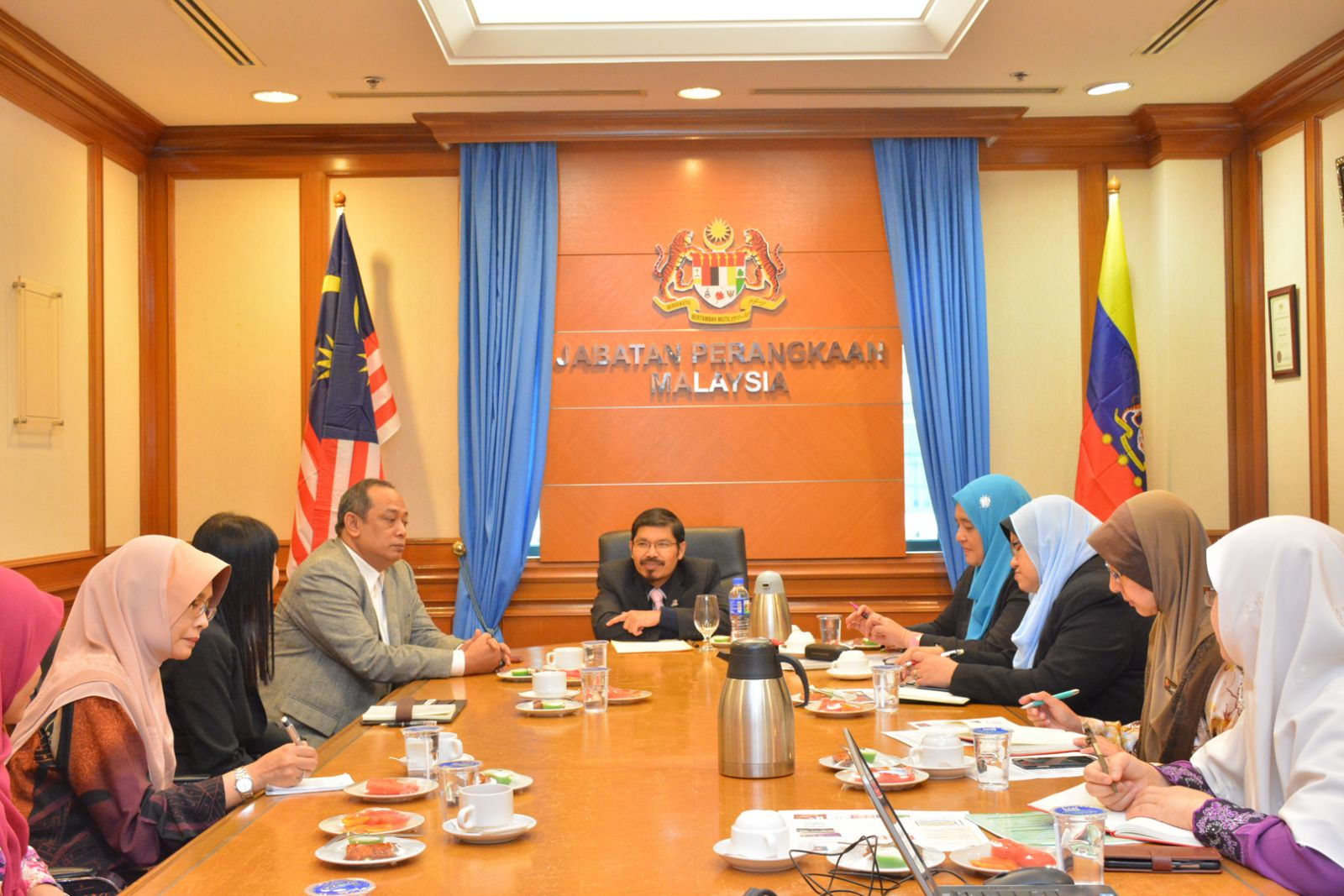 Courtesy call by Faculty Computer and Mathematical Sciences (FSKM), UiTM Shah Alam