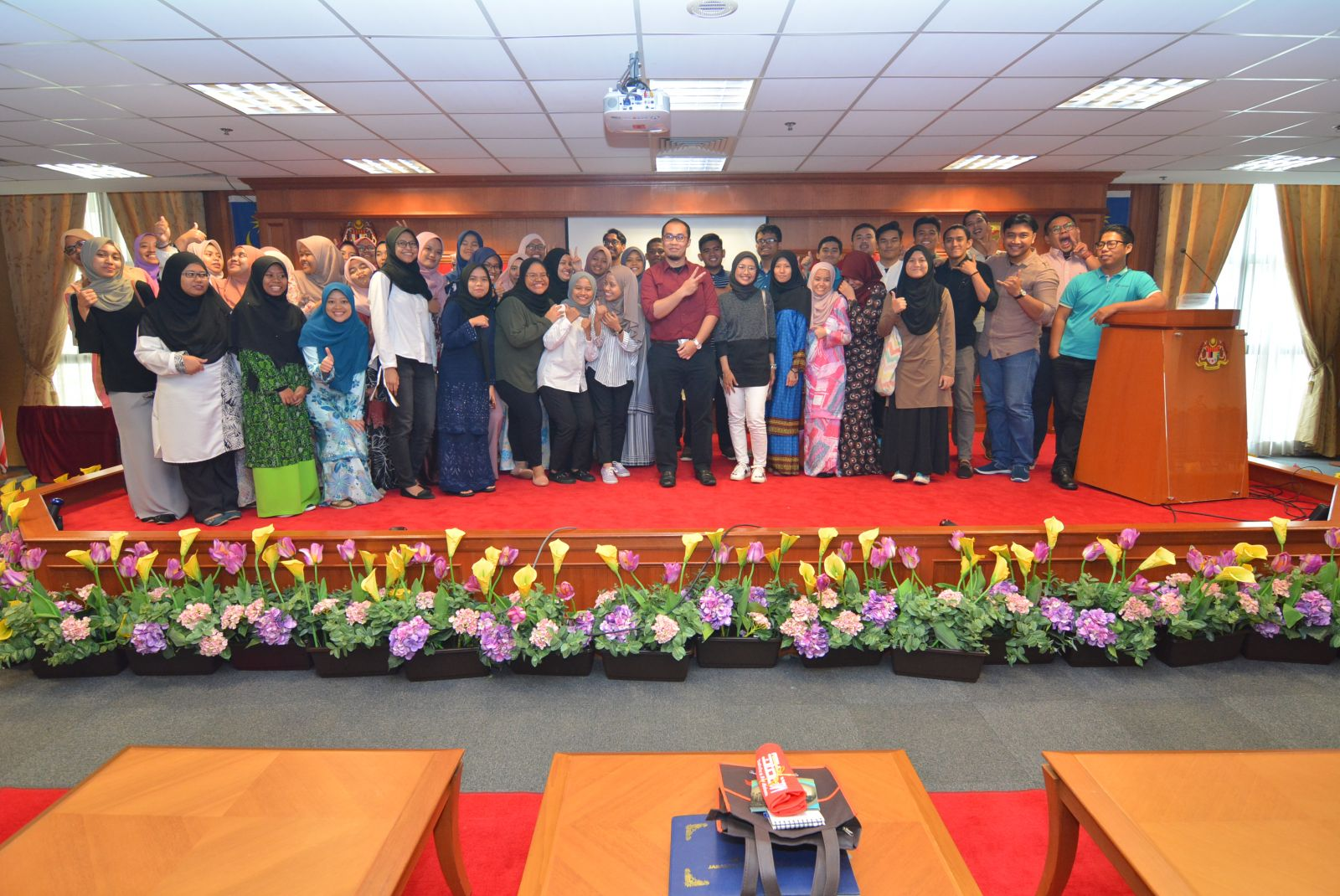 Study Visit by INSTATS 2017, UiTM, Shah Alam