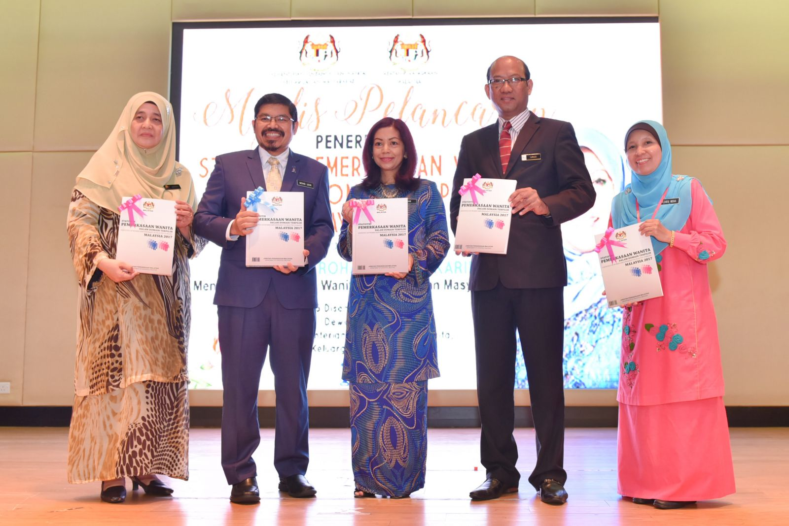 Launching Ceremony of Statistics on Women Empowerment in Selected Domains Malaysia 2017