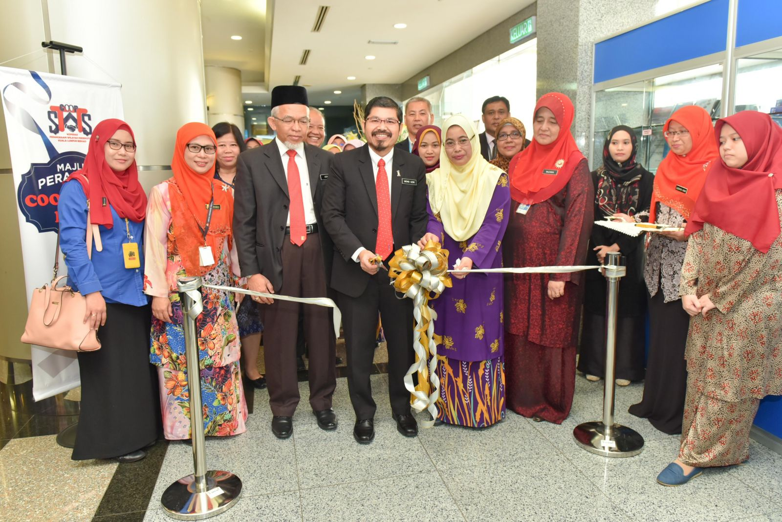 Launching Ceremony of COOP-STATS MART