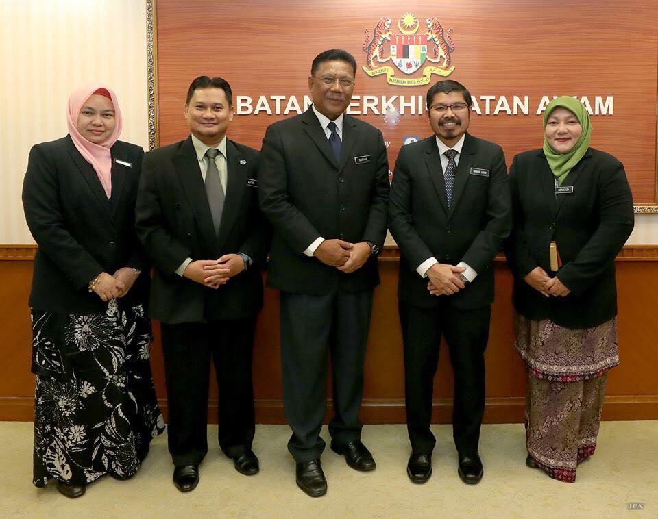 Courtesy visit by Chief Statistician Malaysia to Director-General of Public Service, JPA