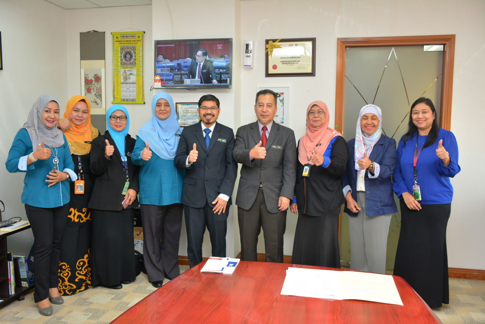 Department of Statistics Malaysia visited RTM