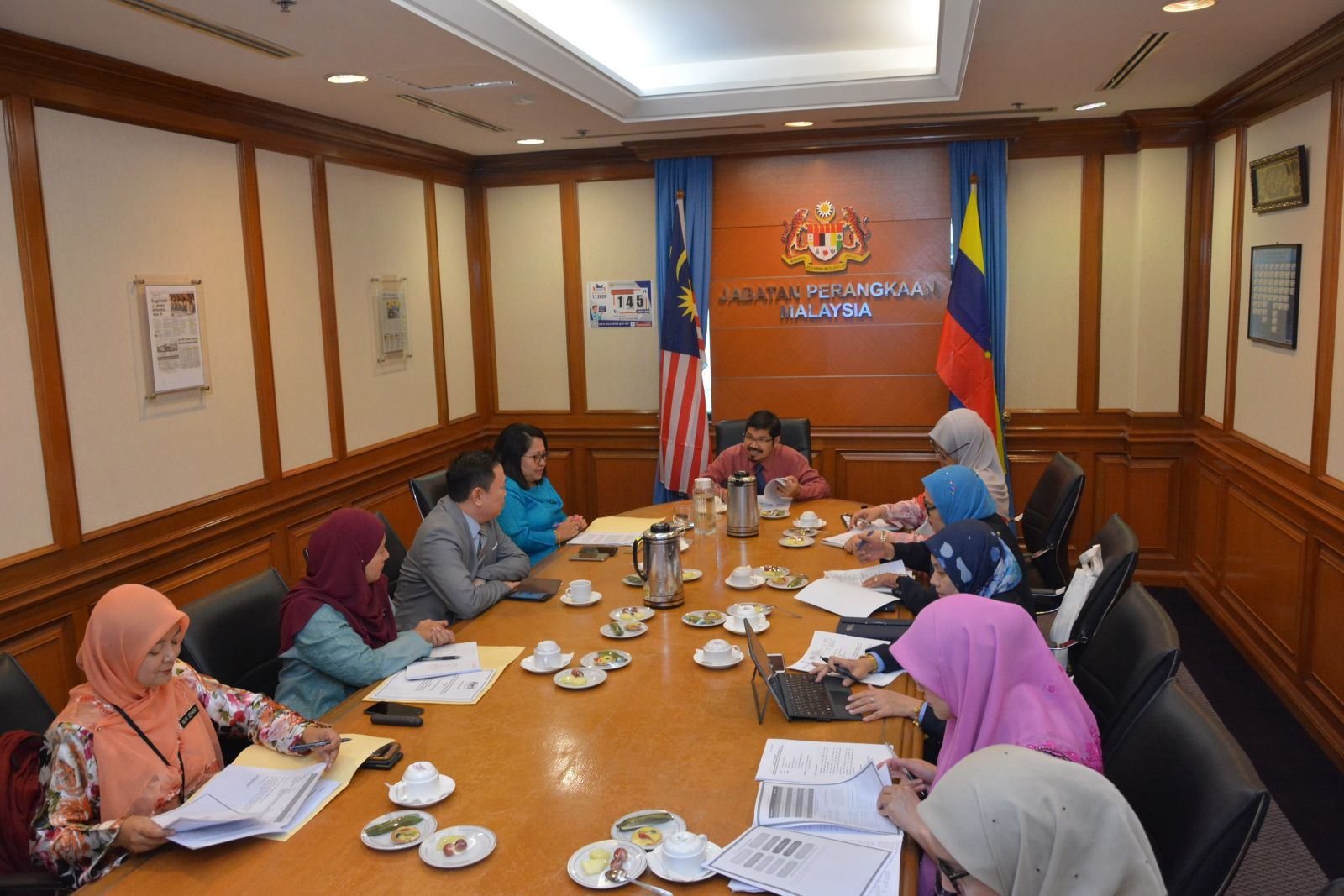 Courtesy Visit from Ministry of Communications and Multimedia Malaysia
